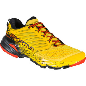 La Sportiva Akasha Chaussures de trail Homme, yellow/red